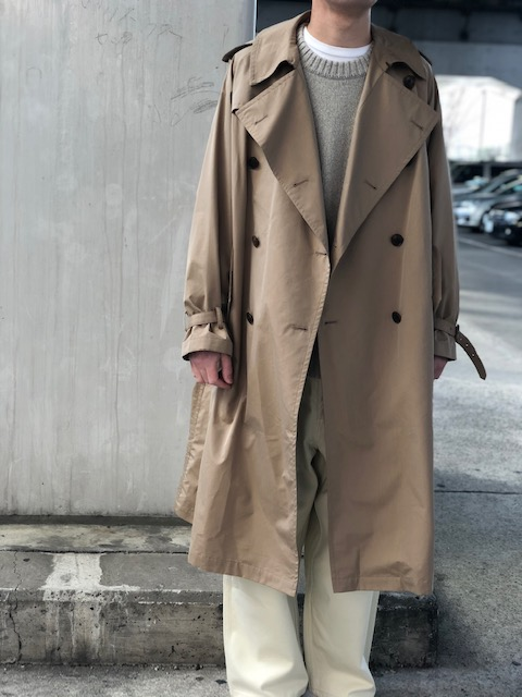 オーラリー トレンチ コート