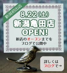 新潟亀田店OPEN